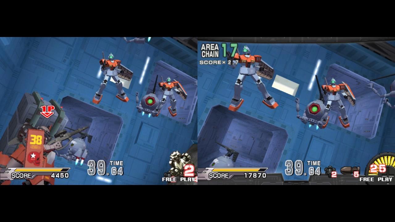 Gundam : Zeon (PC Emulation) - Dual lightgun with Aimtrak and DemulShooter