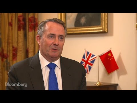 U.K.'s Liam Fox on Future Trade Pacts, China, TPP