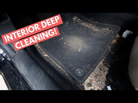HEAVILY Soiled Carpet + 5 HOUR Interior DEEP Cleaning - Interior Car Cleaning Guide