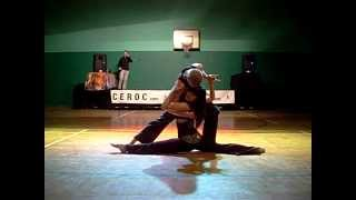 Tim Sant and Jade Sarkhel ceroc Showcase in Swindon