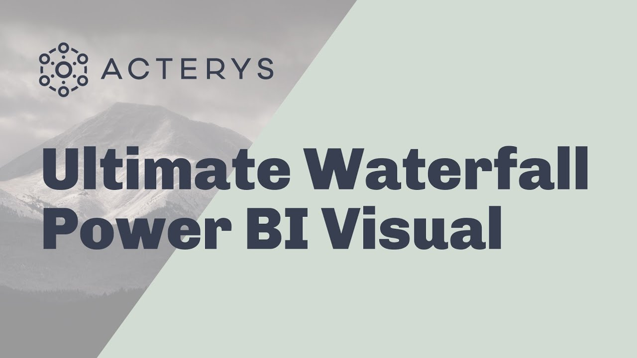 Ultimate waterfall power bi custom visual also youtube rh