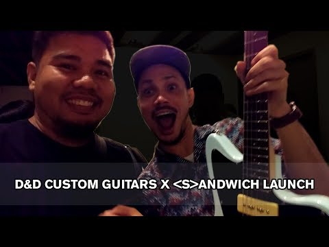 Bob Barredo | D&D Custom Guitars X Sandwich Event at Nova Gallery Manila