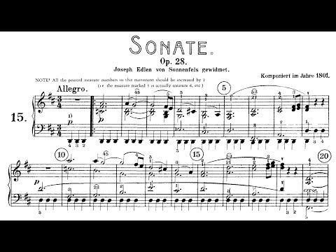 "Beethoven: Sonata No.15 in D Major, ""Pastoral"" (Lewis, Biss)"
