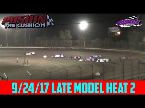 LaSalle Speedway - 9/24/17 - Late Model - Heat 2