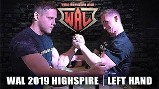 WAL 2019 HIGHSPIRE LEFT HAND | ARM WRESTLING