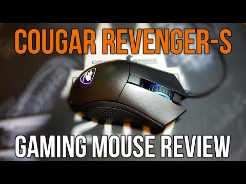 Cougar Revenger-S Gaming Mouse Review - 2000Hz Polling Rate, RGB, and More!
