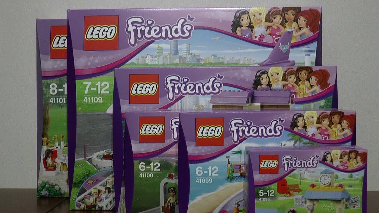 Nowości Sierpień 2015 Lego Friends Youtube