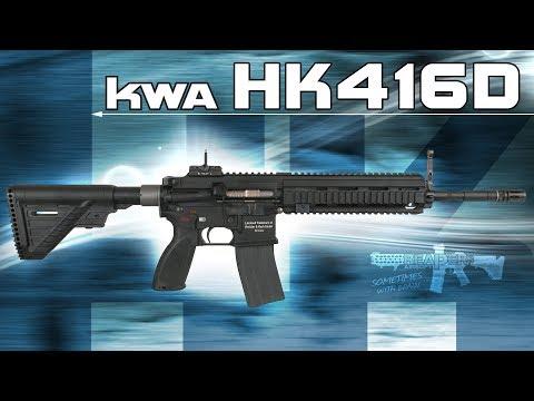 [Review] KWA HK416 D GBB (Umarex/Heckler & Koch) 6mm Airsoft/Softair - 4K UHD