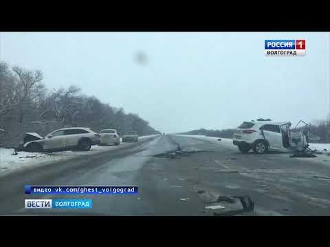 В Новоаннинском районе в ДТП погибла женщина