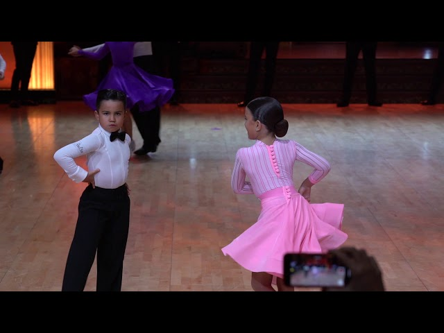 Joshua Bonici & Lisa Chelnakova/Ювеналы/Royal Cup 2018