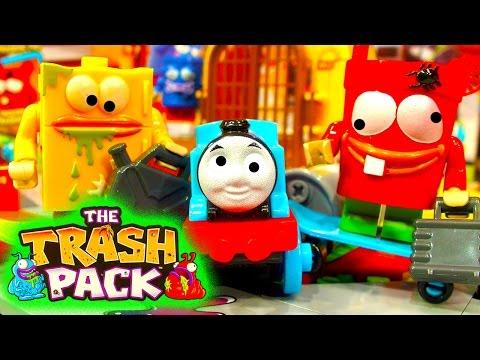 Trash Pack Skatepark Cobi Brick Toy My Son Thinks It's LEGO Brix