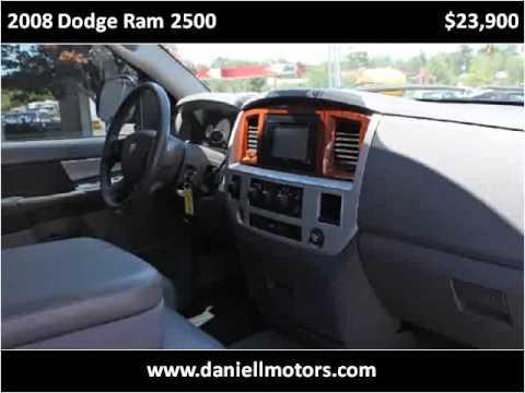 2008 Dodge Ram 2500 Used Cars Hattiesburg Ms Youtube