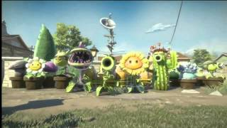 Plants vs. Zombies: Garden Warfare Teaser Trailer - E3 2013 EA Conference