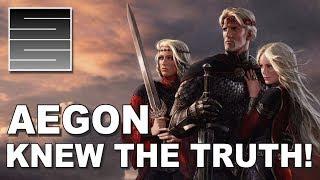 Fire And Blood - Aegon Targaryen Knew!? Game Of Thrones Season 8 Theory