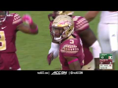 FSU RB Cam Akers Top Plays 2017