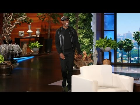 Samuel L. Jackson and Harrison Ford's Friendly Rivalry