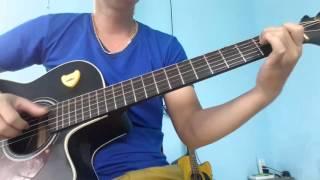 Cơn mưa băng giá guitar cover