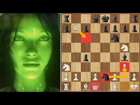 Crazy Queen Sacrifice Against AI Leela Chess Zero
