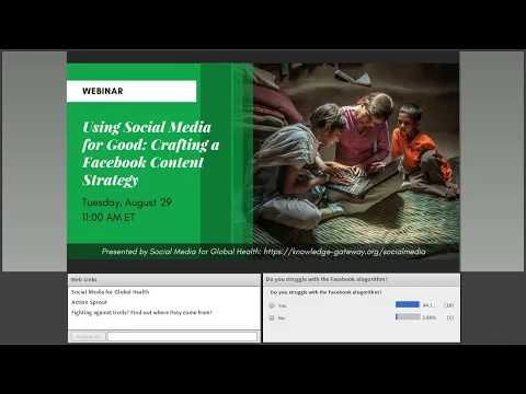 Using Social Media for Good: Crafting a Facebook Content Strategy