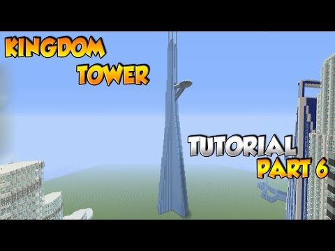 Minecraft Kingdom Tower Tutorial Part 6 - XBOX/PS3/PC