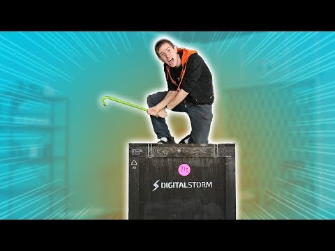 UNBOXING the GOD OF GAMING PCs!!