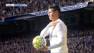vuclip James Rodriguez vs Atletico Madrid Home (27/02/2016) by JamesR10™