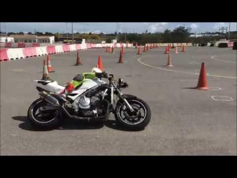Derrapaje con Honda CBR 600 cc en KSB Sport Valencia