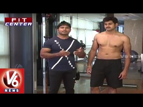 Fit Center | Trainer Venkat Fitness Tips | Exercises For Diabetic Patients | V6 News