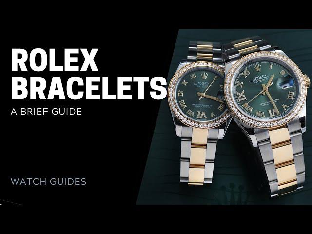 Rolex Bracelets Guide: Every Type of Rolex Bracelet | SwissWatchExpo [Rolex Watches]