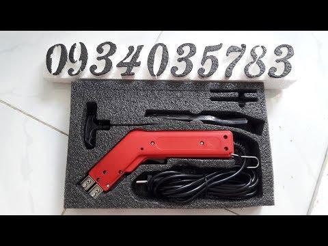 Máy cắt xốp cầm tay tạo hình 3d nhanh 0934.035783