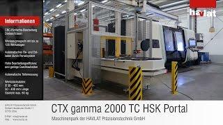 CTX gamma 2000 Portalsystem   Einsatz im Maschinenbau / Anlagenbau