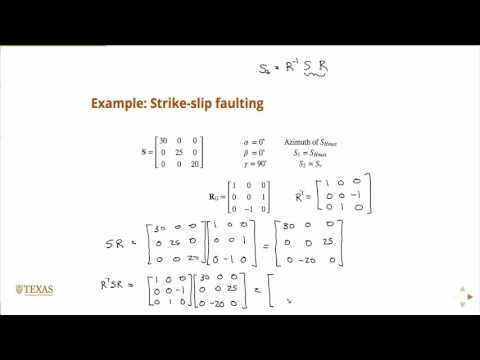 Rotation to geographic coordinate system examples