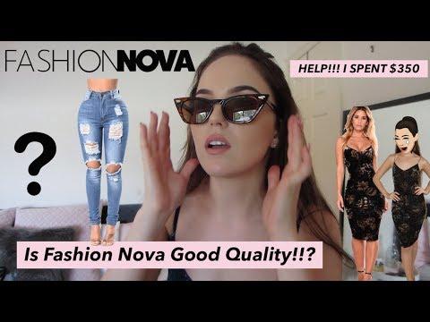 FASHION NOVA Australian Sizing Guide   Unboxing & Honest Review