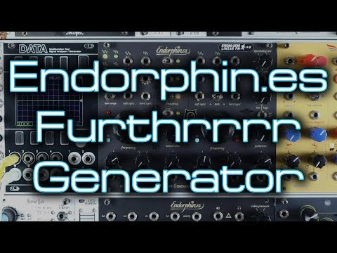 Endorphin.es Furthrrrr Generator // Pushing Eurorack Complex Oscillators Furthrrrr