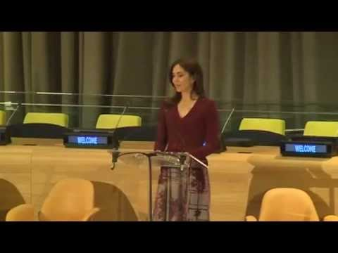 Crown Princess Mary  to rededication of UN Trusteeship Council Chamber (2013)