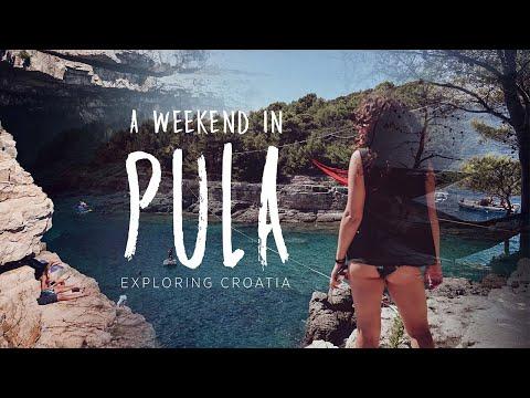 A weekend in Pula | Exploring Croatia | Travel Vlog