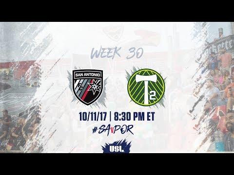 USL LIVE - San Antonio FC vs Portland Timbers 2 10/11/17