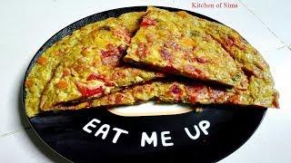 ভেজিটেবল অমলেট | Vegetable Omelette | ঝটপট সকালের নাস্তা | টিফিন রেসিপি