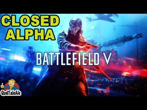 Battlefield V - Gameplay ITA - PC Closed Alpha - Cecchiniamo male thumbnail