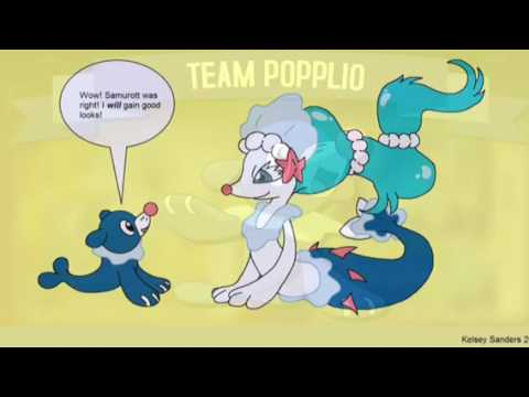 Popplio Brionne And Primarina Amv Chained To The Rhythm Youtube