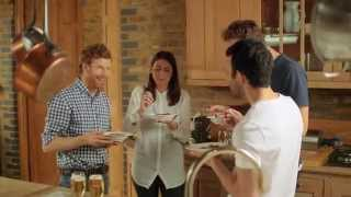 Tom Aikens Serves Braised Venison For Stella Artois uk