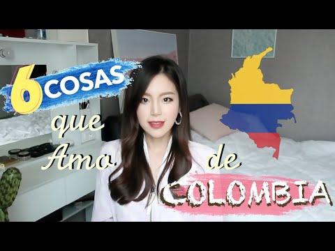 6 cosas que amo de COLOMBIA