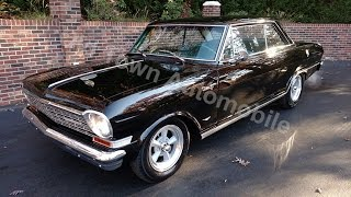 1964 Chevrolet Nova black for sale Old Town Automobile in Maryland