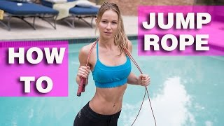 How To Jump Rope for Beginners