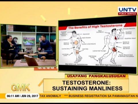 Testosterone: Sustaining Manliness | Usapang Pangkalusugan