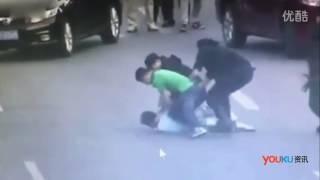 Female Chinese Police Take Down