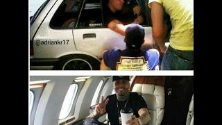 Nicky Jam de humilde carro a jet privado, enterate