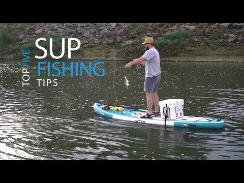 Top 5 SUP Fishing Tips - Hunter Harlow