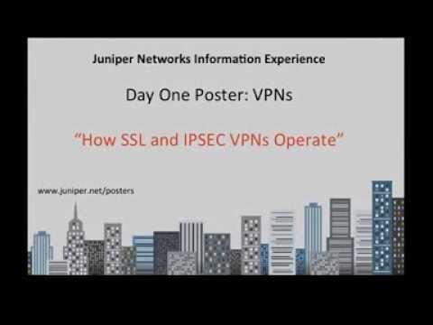 Juniper - IPSEC and SSL VPN Tutorial - [Day One Poster: VPNs]
