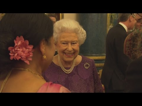 Royals hold Palace reception to celebrate Anglo-Indian culture